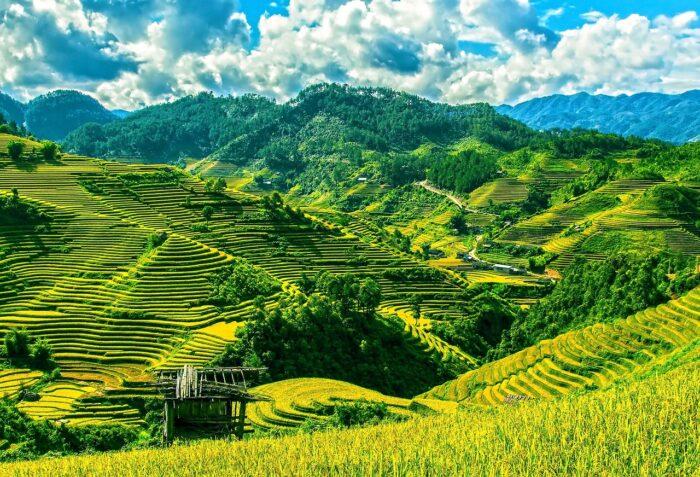 Scenic landscapes of Vietnam